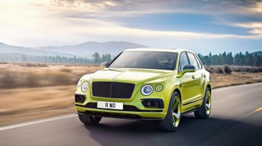 Bentley Bentayga Pikes Peak Limited Edition - front action