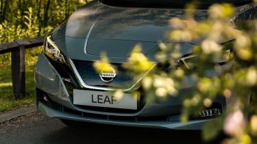 Nissan Leaf - front detail