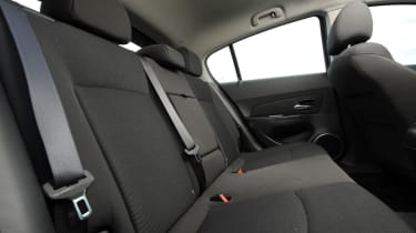 Chevrolet Cruze rear seats
