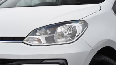 Volkswagen e-up! electric car 2017 - headlight