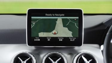 Mercedes GLA - sat-nav