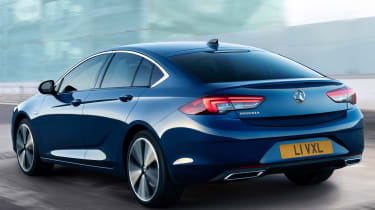 2020 Vauxhall Insignia facelift - rear tracking