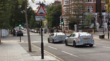 Honda Civic Type-R 2017 London spy shots