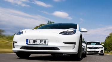 Tesla Model 3 vs BMW 3 Series - head-to-head