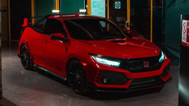 Honda Civic Type R Pickup Truck Concept - front