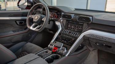 Lamborghini Urus - interior black