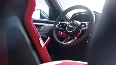 Jaguar F-Pace P400 - steering wheel