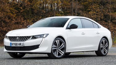 peugeot 508 static front