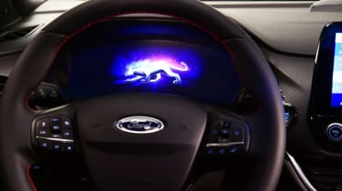 Ford Puma - studio dials