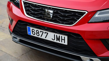 SEAT Ateca - front grille