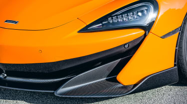 McLaren 600LT - front light