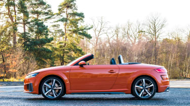 Audi TT Roadster - roof down