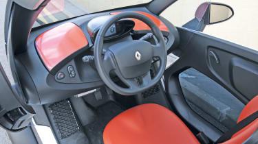 Renault Twizy interior