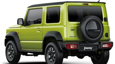 New 2019 Suzuki Jimny rear quarter