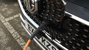 MG ZS EV - charging