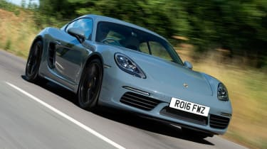 Porsche 718 Cayman - front tracking