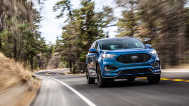 Ford Edge ST 2018 driving