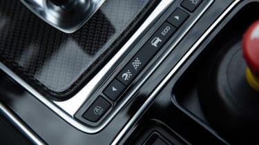 Jaguar XE SV Project 8 - interior detail