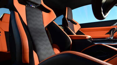 BMW M4 Competition - seats