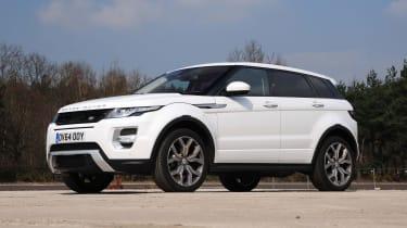 Range Rover Evoque - front static