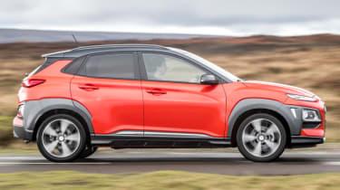 Hyundai Kona review - side profile