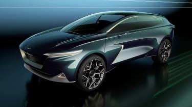 Lagonda All-Terrain concept - front above