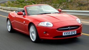 Best cheap convertibles - Jaguar XK
