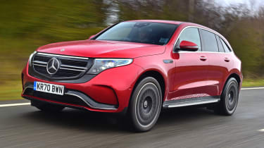 Mercedes EQC 400 - front tracking