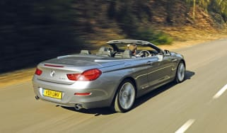 BMW 6-Series convertible rear