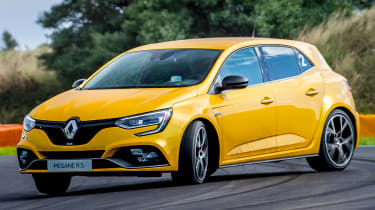 Renault Megane RS 300 Trophy - powerslide