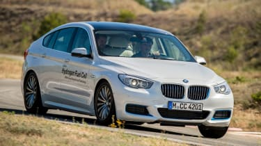 BMW 5 Series GT Hydrogen Fuel Cell - front cornering