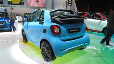 Smart Fortwo Brabus Geneva - rear three quarter