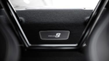 Jaguar XE SV Project 8 - Project 8 plaque