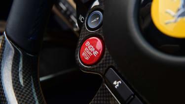 Ferrari 812 GTS - steering wheel controls