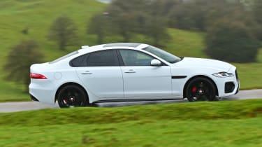 Jaguar XF facelift - side