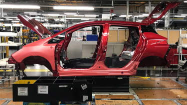 Nissan Leaf long termer first report - factory side