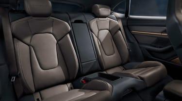 Porsche Taycan Cross Turismo - rear seats
