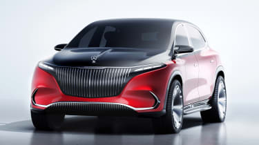 Mercedes-Maybach EQS SUV - front