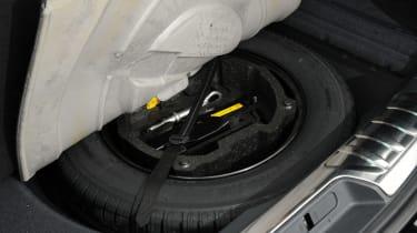 Peugeot 508 SW spare wheel