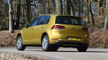 Volkswagen Golf - rear action