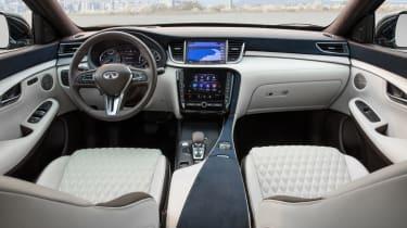 New Infiniti QX50 SUV - interior