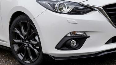 Mazda 3 Sport Black front close