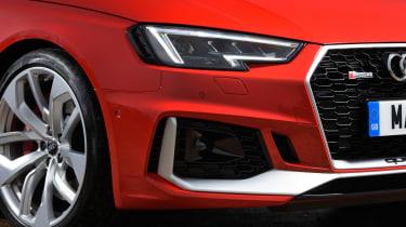 Audi RS 4 Avant - front detail