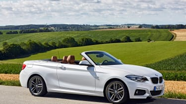 BMW 220d Convertible - front static