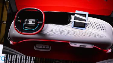 Fiat Centoventi - Geneva interior