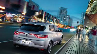 2016 Renault Megane silver rear