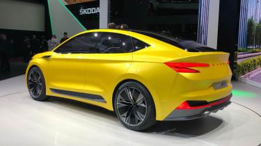 Skoda Vision iV concept - Geneva rear
