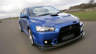 Best Japanese modern classic cars - Mitsubishi EVO X