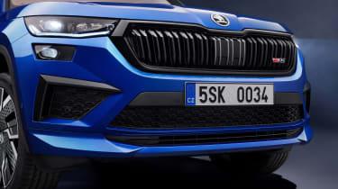 Skoda Kodiaq vRS facelift - grille