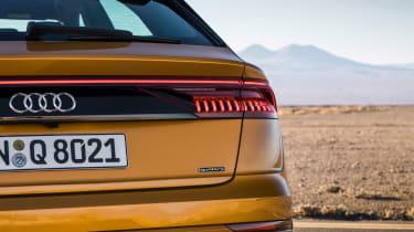 Audi Q8 - rear light
